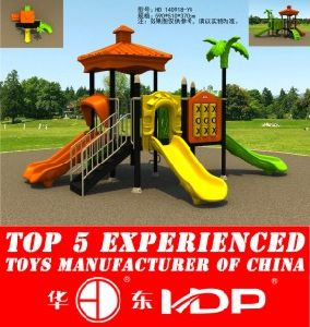 HD2014 Outdoor Newest Natural Collection Kids Park Playground Slide (HD 140918-Y4) pictures & photos