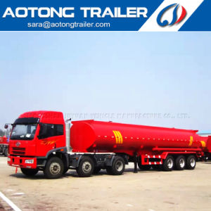 45000L Stainless Steel Milk Transport Tanker Semi Trailer for Sale pictures & photos