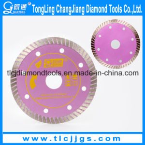 """110mm 4.3"""" Diamond Blade for Cutting Tiles Marble Blade Circular Saw for Tile, Ceramic, and Porcelain Turbo Saw Blade pictures & photos"""