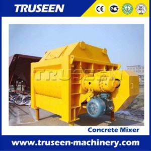 Deep Discount 1-3m3 Belt Twin Shaft Concrete Cement Mixers pictures & photos