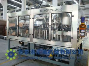 whiskey vodka filling capping machine pictures & photos