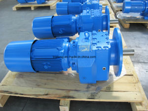 Cr Helical Gear Box, Geared Motor pictures & photos