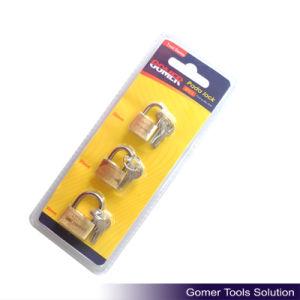 3PCS Brass Padlock (T10022) pictures & photos