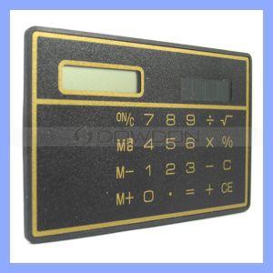 Solar Pocket Calculator 8 Digits Solar Power Calculator pictures & photos