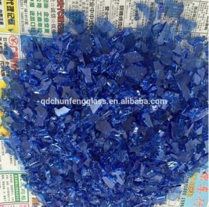 Best Quality Fire Glass Chips for Hotel Modern Fireplaces pictures & photos