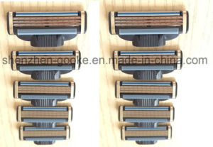 Hot Sale 3 Layer Blade for Gillette Mach 3 in Original Box Razor Head *8 with Free Handle