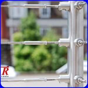 Stainless Steel Wire Rope Railing System Outdoor