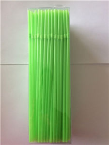 Lovely Grass Green Straw, Flexible Drinking Plastic Straw pictures & photos