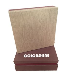 Upmarket Chocolate Wooden Like Paper Packing Gift Box pictures & photos