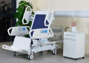 400kg Eight Functions Heavy Duty Bariatric Chair Style Hospital Beds
