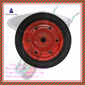 High Quality Solid Rubber Wheel 350-8, 400-8, pictures & photos