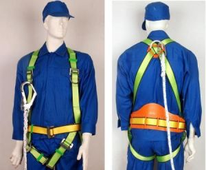 Falling Protection Safety Harness with Hook QS001 pictures & photos
