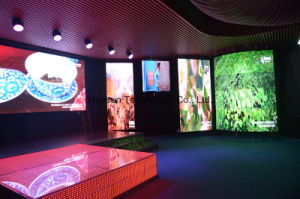 Video Grid LED Screen for Night Club, Floor Stage LED Screen, Creative LED Grid Video Display pictures & photos