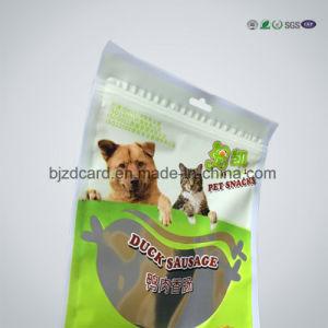 Custom Printed Waterproof Plastic PE Packaging Bag with Zipper Bag pictures & photos