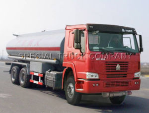 HOWO Fuel Tank Truck 6*4 ZZ1257N4341W pictures & photos