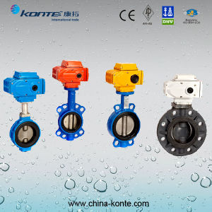 Electric Butterfly Valve (KT-D971X-10) pictures & photos
