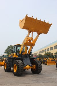 3 Cbm Shovel Bucket Wheel Loader (LQ956) pictures & photos