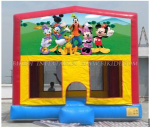 Inflatables Bounce House with Hook & Loop Themed Art Panels for Sale (B2123) pictures & photos