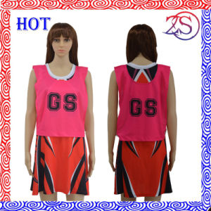 2015 Latest Cheap Sublimation Netball Dress pictures & photos