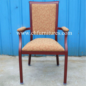 Dark Red Comfort Armrest Chair Furniture (YC-E65-14) pictures & photos