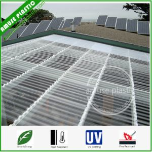Ge Wavy Circular Corrugated Polycarbonate Plastic PC Sheet for Roof pictures & photos