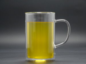 400ml Double Wall Hand Made Borosilicage Glass Tea Cup