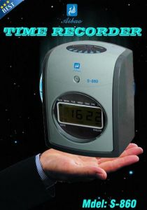 Electronic Analogue Time Recorder S-860