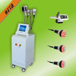 Laser 2 Handles Cryo Therapy Machine Cryo Slimming Machine with 3 Fashing Cavitation RF Head H3007 pictures & photos