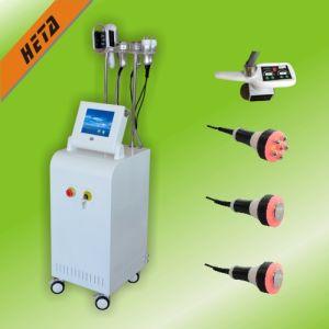 Laser 2 Handles Cryo Therapy Machine Cryo Slimming Machine with 3 Fashing Cavitation RF Head H3007 pictures & photos
