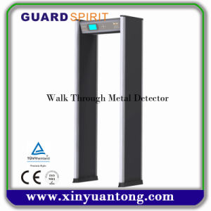 24 Zones High Sensitivity Walk Through Metal Detector Xyt2101LCD pictures & photos