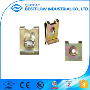 Many Types M4 M5 M6 Metal Steel Zinc Coating Spring Clip Clamp Stamping Sheet Nut pictures & photos