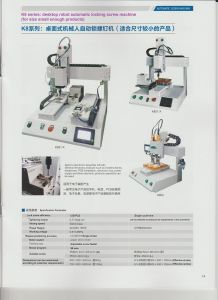 High Efficiency Desktop Robot Automatic Locking Screw Machine pictures & photos
