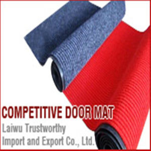 Waterproof Anti-Slip Entry Door Mats with PVC Backing 50X80cm pictures & photos