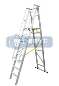 (375LBS) 2m Aluminum Alloy Folding Platform and Step Ladder pictures & photos