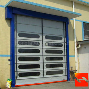High Speed PVC Stacking Garage Doors (HF-1019) pictures & photos