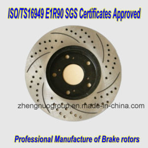 Auto Parts Brake Rotors for Nissan pictures & photos