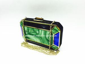 Acrylic Fashion Clutch Bag Ladies Evening Bag pictures & photos