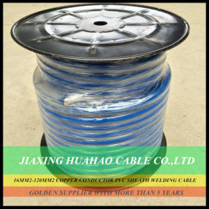 Blue PVC Jacket Copper/CCA Conductor 16mm2 100AMP 25mm2 200AMP 35mm2 300AMP 50mm2 500AMP 70mm2 600AMP 95mm2 700AMP Welding Cable pictures & photos