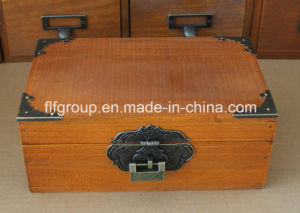 Country Vintage Different Color Customized Wooden Cupboard with Multi Drawers pictures & photos