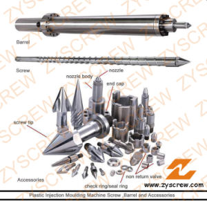 Injection Screw Barrel Injection Moulded Screw Barrel pictures & photos