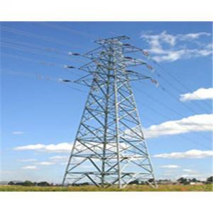 China Tubular Steel Electricity Transmission Tower (Painting) pictures & photos