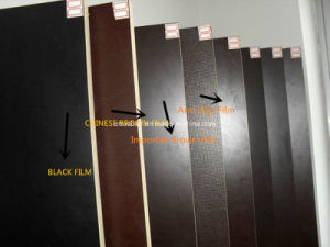 Concrete Film Faced Plywood Black Film Poplar Core First Grade pictures & photos