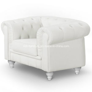 Modern Classic Chesterfield Leather Sofa pictures & photos