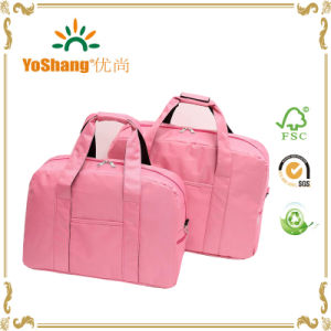 Women or Girls Pink Color Travel Bag for Sale pictures & photos