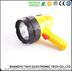 Rechargeable LED Spotlight for Searching Hunting Emergency Flashlight pictures & photos
