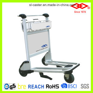 Stainless Steel Luggage Trolley for Airport (GJ1-300) pictures & photos