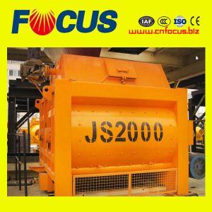 2015 Hot Sale Js2000 Concrete Mixers for Concrete Batch Plant pictures & photos