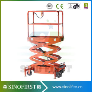 3m 4m Hydraulic Electric Mini Elevator Lift Aerial Lift Platform pictures & photos