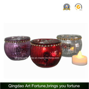 Metal Lid Printed Bowl Glass Candle of Distributor pictures & photos