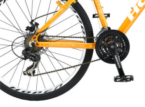 """26"""" 21sp Orange Hot Sale New Fashion Alloy Mountain Bicycle pictures & photos"""
